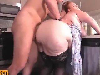 Bbw Women Fuck In The Kitchen Julie Ginger